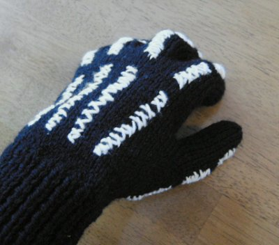 skeletong glove