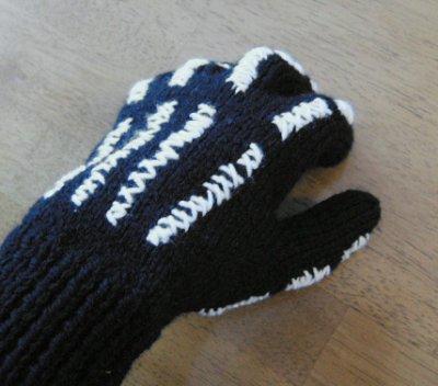 skeletong glove