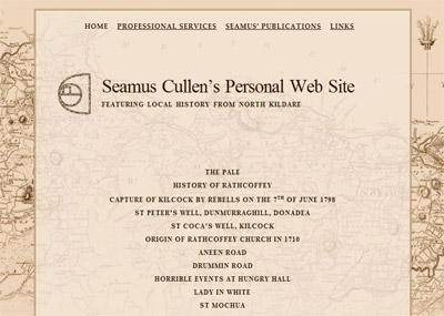 seamus cullen's personal website