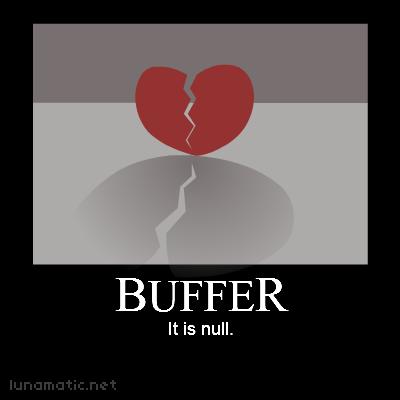 Buffer is null