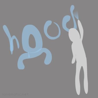 Hood sprays tags wherever he can