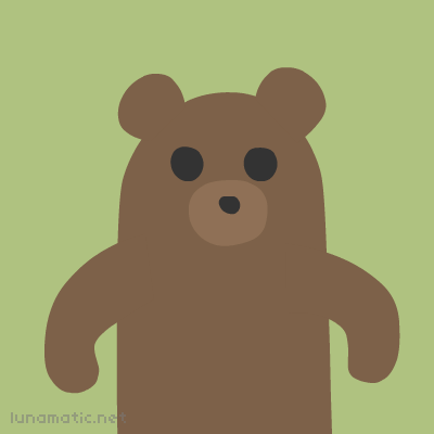 Bear's body language is anything but welcoming
