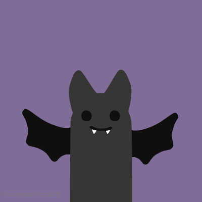 Bat with small, stubby wings