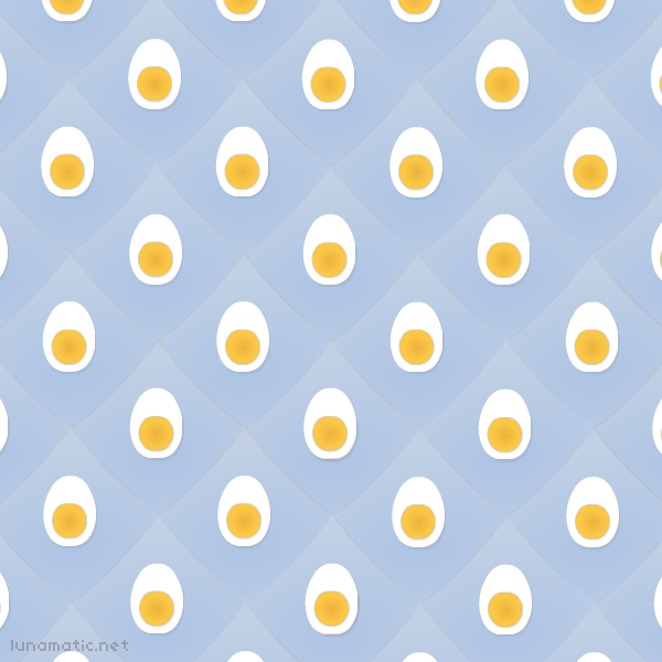 Hard boiled egg wallpaper, ambient eggs everywhere!